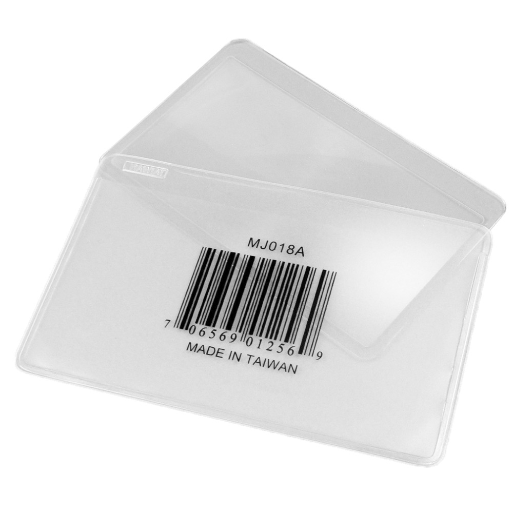 New Pocket Credit Card Size Magnifier 3x Magnifying Fresnel Lens Magnet Ferit Diameter 7mm Tdk Zcat 1730 0730 Reading High Quality