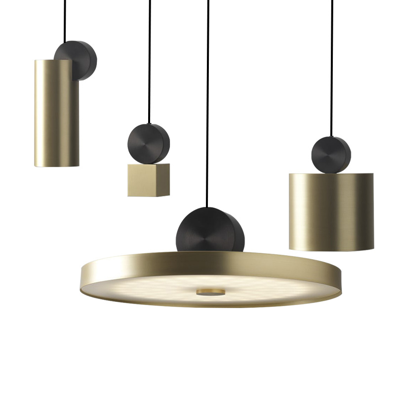 Nordic restaurant LED pendant lamp simple luxury living room bedroom dinning room bar cafe stainless steel lamp free shipping 1 3 heads nordic simple restaurant chandelier creative cafe wind chimes lamp iron art dinning room lamp bar light free shipping