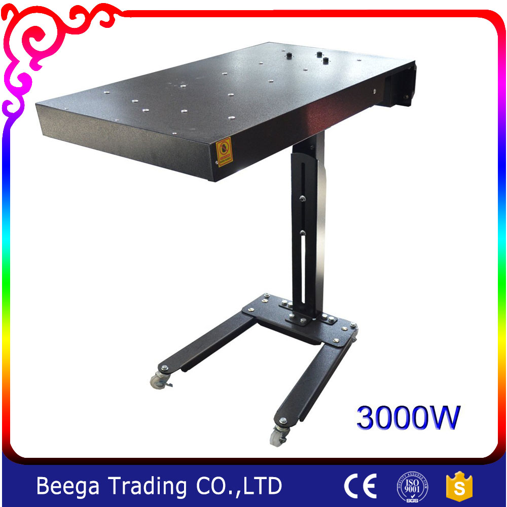 Free shipping 3000W Intelligent Temp Control Flash Dryer Silk Screen Printing Equipment Machine Cure Ink T-shirt Printer стоимость