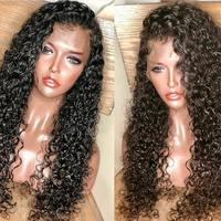 Sunnymay Lace Front Human Hair Wigs Curly Brazilian Virgin Hair Glueless Lace Wigs Pre Plucked Natural Hair Line