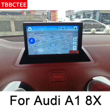 For Audi A1 8X 2011~2015 MMI Car Radio GPS Android multimedia Player Navigation AUX Stereo HD touch screen original style games a1 l ile aux prepositions