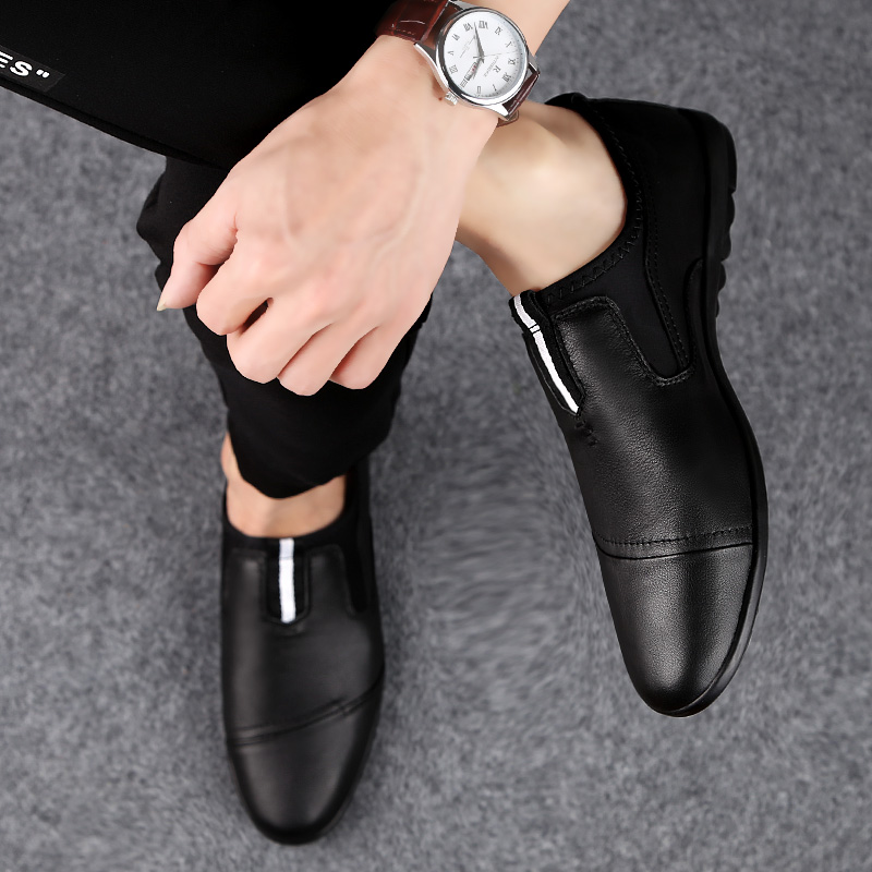 big size 46 Luxury Brand loafers shoes Fashion Casual Men Shoes Genuine Leather Slip-on Men Loafers Dress Flats shoes p4
