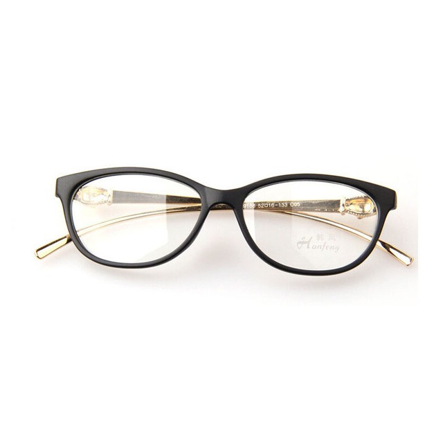 382c07ce46b4 2016 New Classic Brand Leopard Head Metal Leg Eyeglasses Frame Special  Design Animal Carving Glasses Women