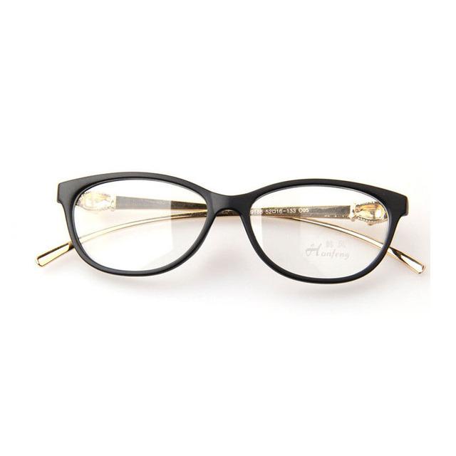 2016 New Classic Marca Leopard Cabeça do Metal Pernas Óculos de Armação Projeto Especial Animal Carving Óculos Mulheres Óculos Da Moda