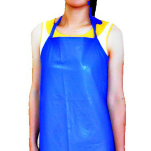 4 PCS/LOT OVERSIZE 110X65cm 0.22MM 250G PVC Waterproof Apron Kitchen Cook  Fishing Labor