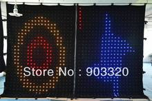 LED Star Curtain PC Mode+SD Card SMD5050 P5 2M*4M  3200 leds LED Video Curtain For DJ Wedding Backdrops,Event,Nightclub