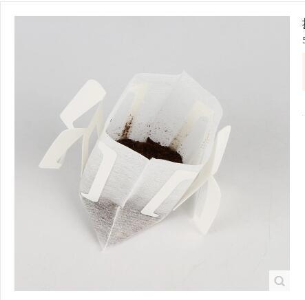 где купить 50 pcs. Hanging Ear Coffee Filter-Bag Filter Mesh Filter Drip Type Coffee Tools Accessories по лучшей цене