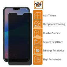 9H Privacy Anti-Spy Screen Protector For HuaWei Y3 Y5 Y6 II Y3II Y5II Y6II Y7 PRIME Y9 2018 2019 Anti-Peeping Tempered Glass(China)