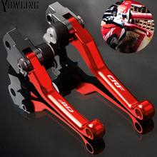 Motocross Dirt bike CNC Pivot Foldable Bike Brake Clutch Levers FOR HONDA CRF250X CRF450X 2005 - 2017