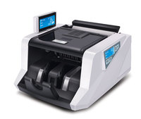 Multi Currency Bill Counter With UV MG Detection Money Counter Financial Equipment With Mix Counting Function