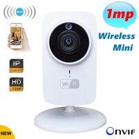מיני Wifi מצלמת ip אבטחת CCTV המצלמה 720 P מצלמת רשת האלחוטית מיקרו SD אודיו HD מעקבים ראיית לילה מצלמת וידאו Telecamera