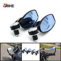 Universal Motorcycle Mirror View Side Rear Mirror 22\24mm Handle Bar For TRIUMPH SPEED FOUR TRIPLE 1050 R S ABS MASTER