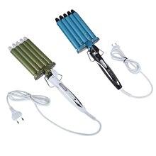 Professional Temperature Controller Hair Curler 160 / 190 / 220 Degree Adjustable Curling Wand Heat Iron Barrel Rapid