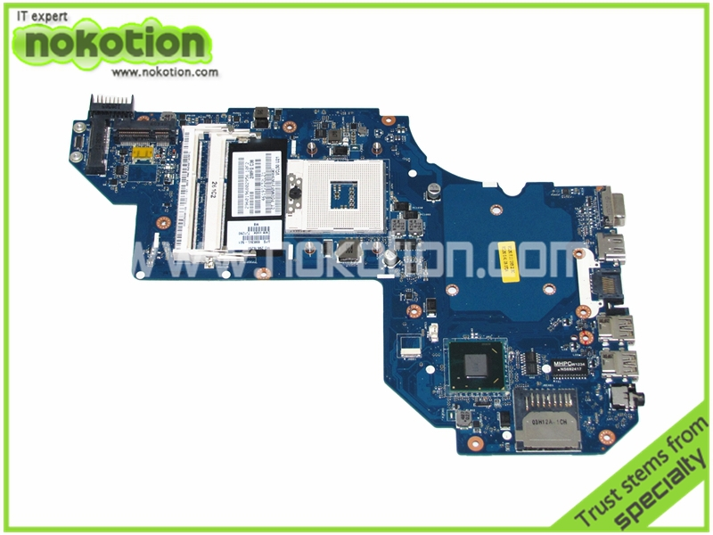NOKOTION 698395-501 QCL50 LA-8713P Laptop motherboard for HP Pavilion M6 REV 1.0 Intel HM77 Mainboard warranty 60 days nokotion sps v000198120 for toshiba satellite a500 a505 motherboard intel gm45 ddr2 6050a2323101 mb a01