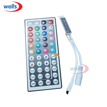 цена на 44key IR Remote RGB/GRB Mini Controller for 3528 5050 RGB Strip DC12V