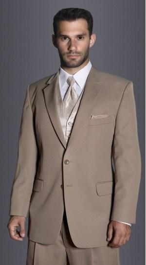 Khaki Prom Suit | My Dress Tip
