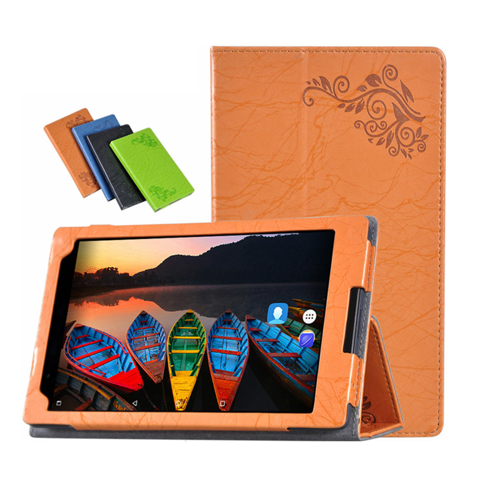 Case for Lenovo TAB4 8 Plus Print PU Leather Folding Stand Funda for Lenovo TAB 4 8 Plus TB-8704N TB-8704F Case+Touch Pen magnetic stand smart pu leather cover for lenovo tab 4 8 tb 8504f 8504n 8 0 tablet funda case free screen protector stylus pen