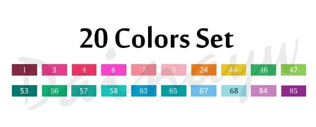 20colors set