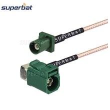 Superbat Sirius Extension Montage Kabel Fakra E Jcak Ra Connector Plug Male Pigtail RG316 Voor Navigatie Radio