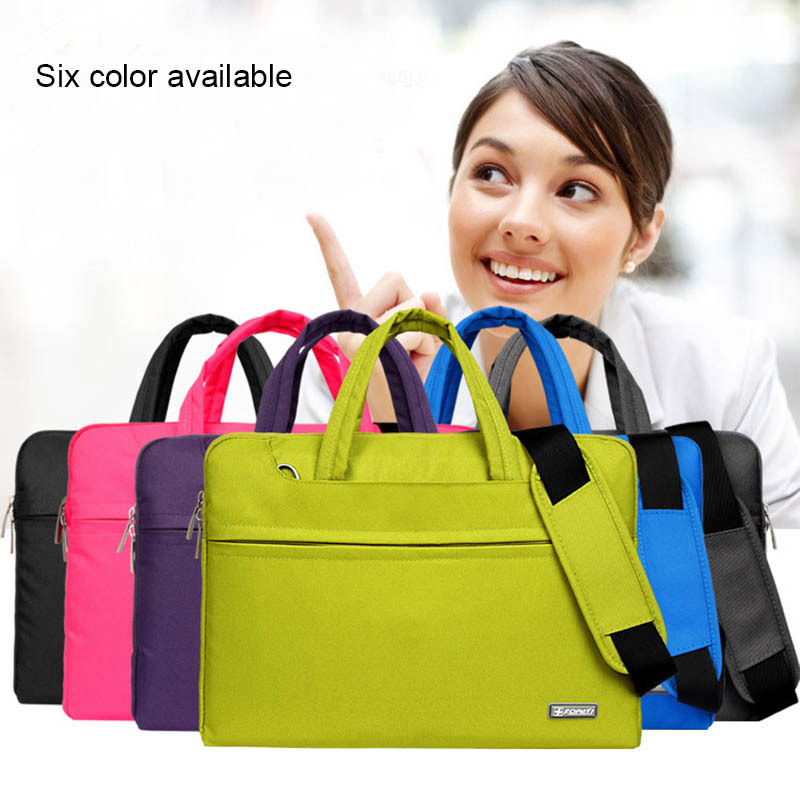 2015 Hot Fashion New Universal Laptop Ultrabook Notebook Shoulder Bag Case 11 13 14 15.6 inch for Macbook HP Lenovo Women Men