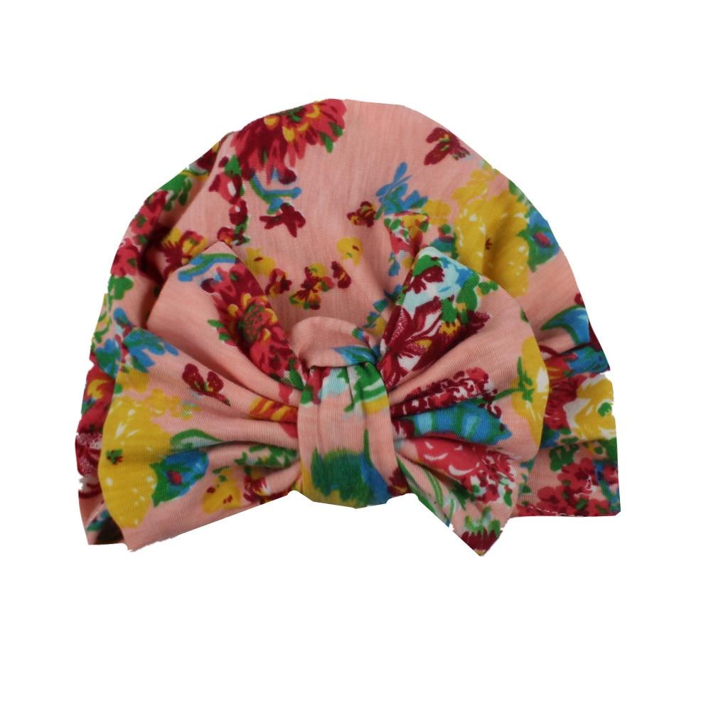 100% crochet, mainnom printemps Automne Bébé Tricoté Chaud Coton Beanie  Chapeauprocessus de fabrication Bowknot imprimerStyle  mode mignontissu   Mousseline ... ed79bcea8e9