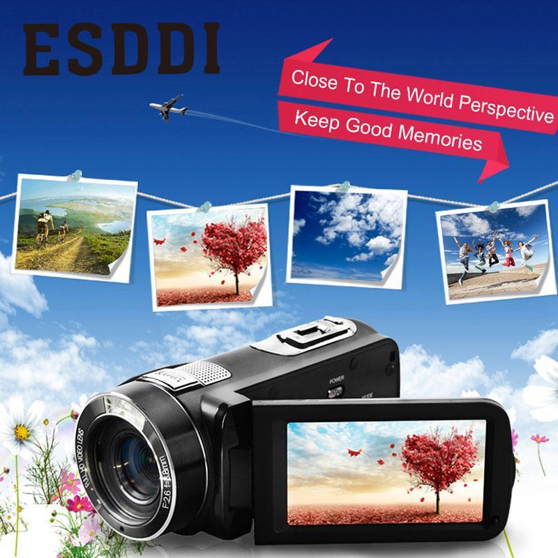 2017 new hot 3.0 24MP HD 1080P Digital Video Camera 16X Zoom Camcorder Anti-Shake DV Cam DVR Travelling Car Sport Consumer alloyseed 2 7 inch digital camera 8x optical zoom lens 24mp hd children camcorder video recorder anti shake photo dv