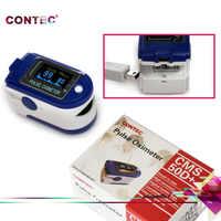 CONTEC CMS50D + CMS 50D Plus USB Software oxímetro De Pulso De Dedo Oximetro De Dedo De Pulso