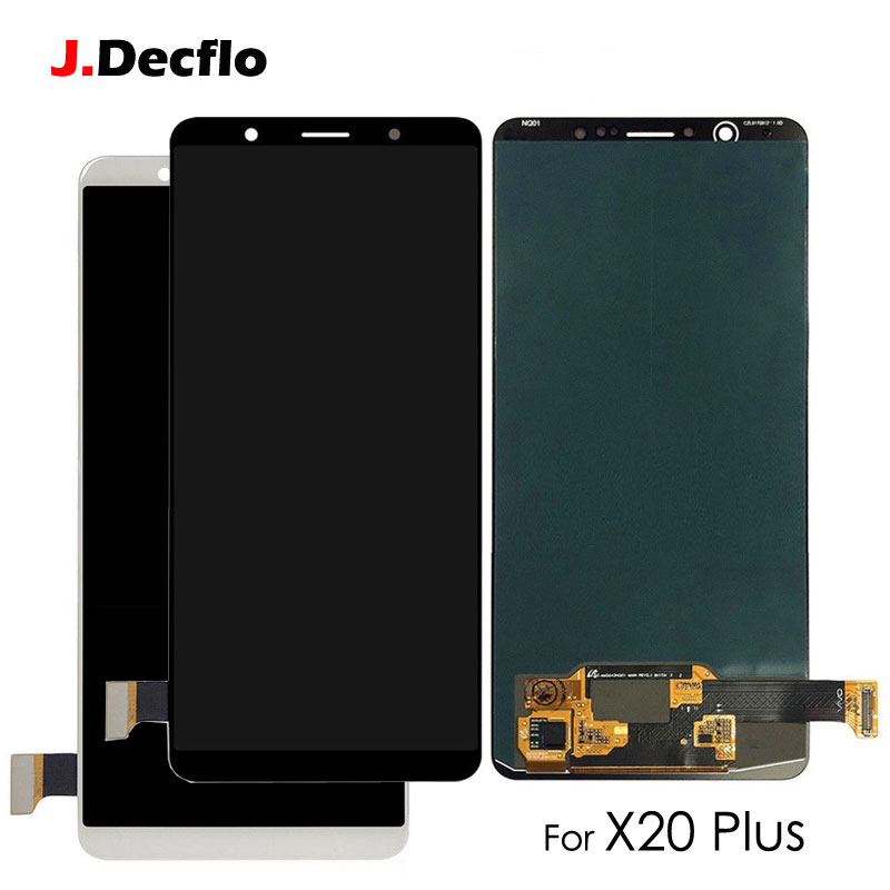 OLED For VIVO X20 X20 Plus AMOLED LCD Display Touch Screen Digitizer Assembly Replacement Original No Frame Black or WhiteOLED For VIVO X20 X20 Plus AMOLED LCD Display Touch Screen Digitizer Assembly Replacement Original No Frame Black or White