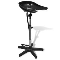 VidaXL Stilvoll Kopfstütze Durable Headwash Wasserdichte Shampoo Stühle Für Friseur/Sitzt Bündig Licht Gewicht Assemblely
