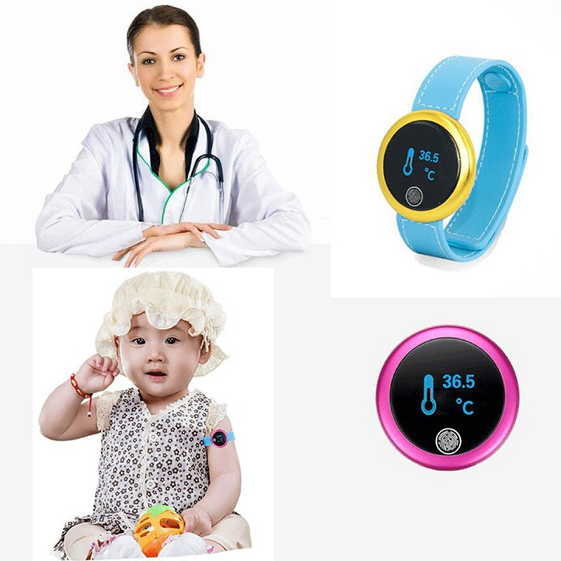 L07 Bluetooth Baby Thermometer Care Wearable Measure Health Children Kids Intelligent Electronic Thermometer Temperature Monitor free shipping new children akara intelligent wearable electronic thermometer bluetooth smart baby monitor household thermometer