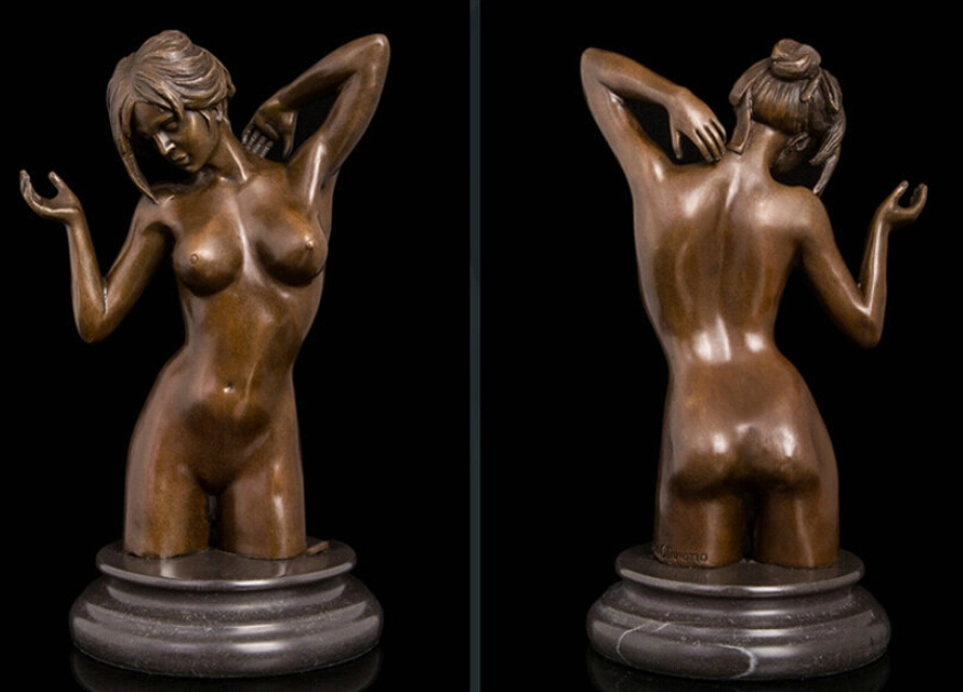 Nude Star War Original Sculpture Wars Sexy Curvy Stormtrooper