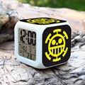 Новинка  одна штука  светодиодный индикатор  7 цветов  светящийся  меняющий цифровой светящийся будильник  термометр  часы  лучшие часы для д...