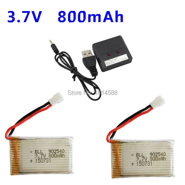 Syma X5C X5SC X5SW X5C-1 V931 H5C CX-30 CX-30W quadrocopter 3.7V 800mAh lithium battery package 2 +1 2 charge balance chargeSyma X5C X5SC X5SW X5C-1 V931 H5C CX-30 CX-30W quadrocopter 3.7V 800mAh lithium battery package 2 +1 2 charge balance charge