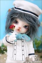 Oueneifs lio 1/8 modelo bjd luts delf zuzu reborn baby meninas boys toys loja maquiagem dos olhos das bonecas de alta qualidade resina anime móveis