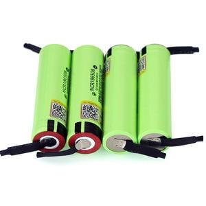 Image 4 - Liitokala New Original NCR18650B 3.7 v 3400 mah 18650 Lithium Rechargeable Battery Welding Nickel Sheet batteries
