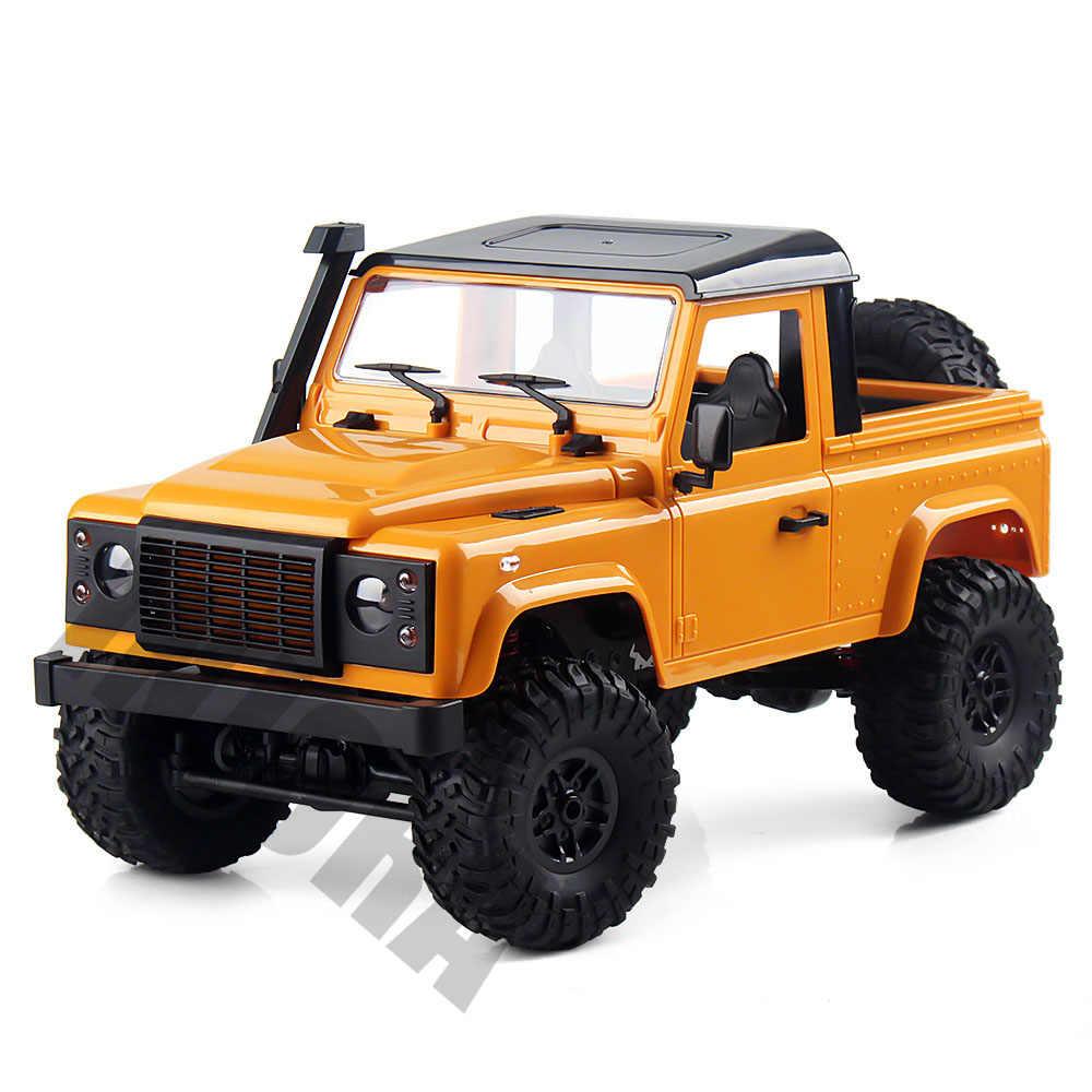 1:12 ölçekli MN Model RTR sürümü RC araba 2.4G 4WD MN-90K MN-91K RC kaya paleti D90 Defender Pickup uzaktan kumandalı kamyon oyuncaklar