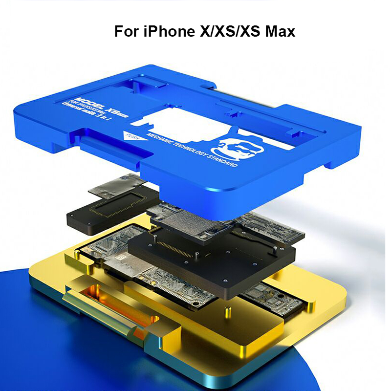 Mechanic Full Function Motherboard Tester for iPhone X Xs/Xs Max Display Touch WIFI Camera ID Maintenance Platform
