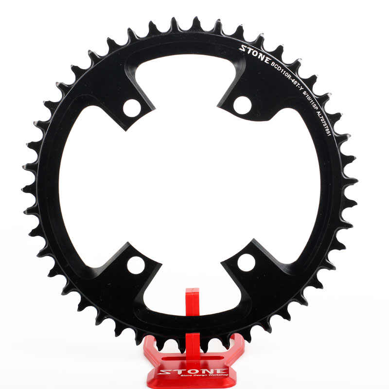FOUNO 110BCD Chainring Narrow Wide Round Chain Ring 42 44 46 48 50 52 54 56 58T