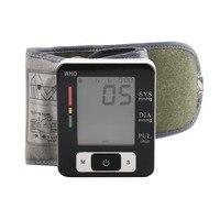 Automatic LCD Digital Wrist Blood Pressure Monitor Heart Pulse Measure High Selling