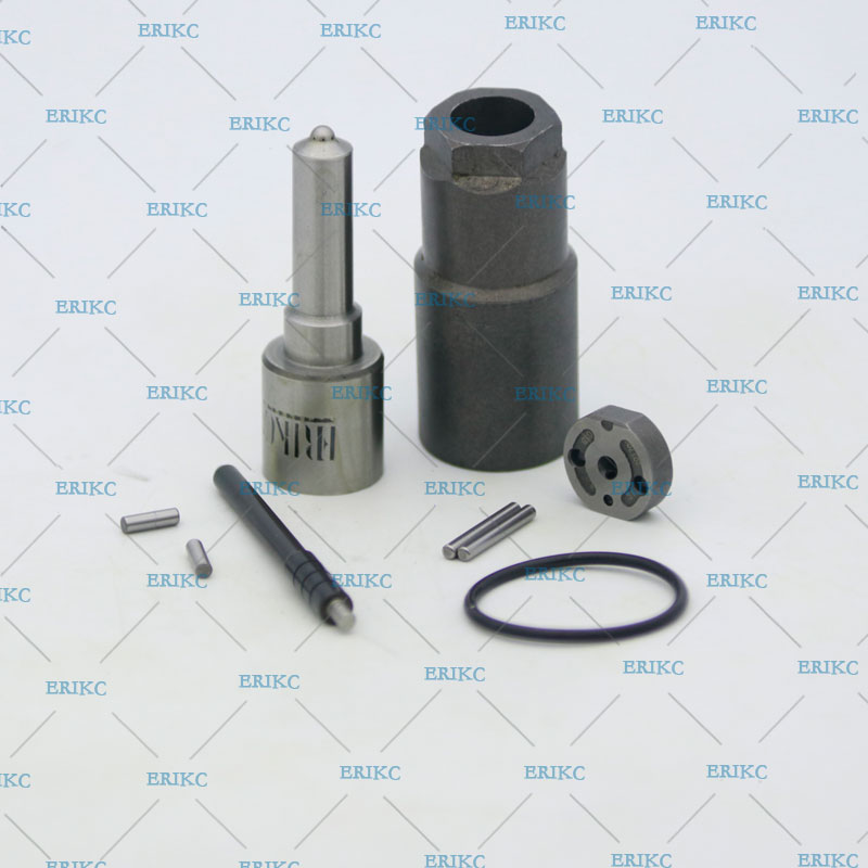 ERIKC Diesel Fuel Injectors 095000 9560 Overhaul Repair Kits Nozzle DLLA155P1030 Valve Plate 19 Pin Sealing