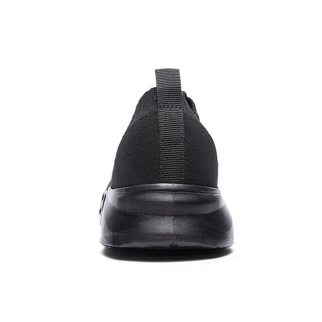 FEOZYZ Low Top Running Shoes Men Women Breathable Knit Upper Sneakers Women Men Plus Size 35-48 Lightweight Outdoor Sport Shoes 4