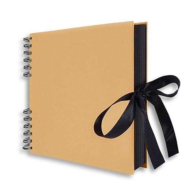 קראפט נייר גלרית DIY בעבודת יד יום אב מתנות חג אהבת מתנות אורחים חתונה ספר נסיעות זיכרון ספר גלרית 763877