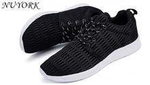 New listing hot sales Spring and summer Breathable sports shoes net men and women running shoes 1702