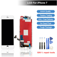 Original AAAA Screen LCD For iPhone 7 Replacement IPS Display Touch With Gifts White Color