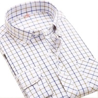 Men S Oxford Shirts Wrinkle Resistant Slim Fit Dress Button Down Long Sleeve Fashion Brand Men