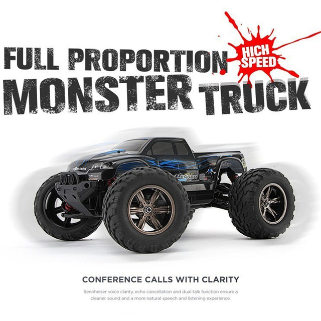 RC Car 9115 40km/H 1/12 2.4 Ghz Super Remote Control Monster Car Crawler Drift Carrinho Controle Remoto Bigfoot Off-road Car