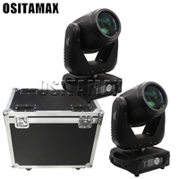 New 2pcs with flycase dmx512 control 260w sharpy beam 9R Lyre beam wash moving head lighting equipment powercon gobo sharpy