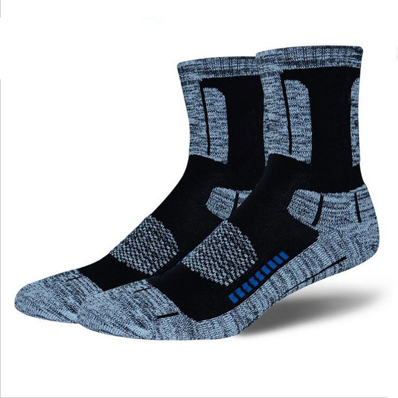 3Pair High Quality Brand CoolMax Socks Male Winter Thermal Warm Socks Men Quick-Dry Breathable Thick Towel Cotton Mens Socks
