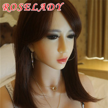 NEW Top quality 165cm oral solid silicone sex doll, full size love dolls, metal skeleton adult sex dolls, real vagina anal sex