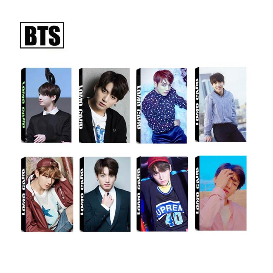 Costume Props Kpop Bts Bangtan Boys Album Bts World Tour Love Yourself Japan Photo Cards Jimin V Jungkook Photocard Gifts New